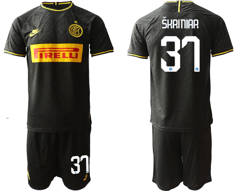 2019-20 Inter Milan 37 SKRINIAR Third Away Soccer Jersey