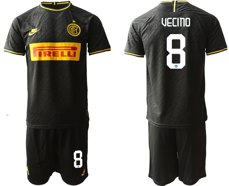 2019-20 Inter Milan 8 UECINO Third Away Soccer Jersey
