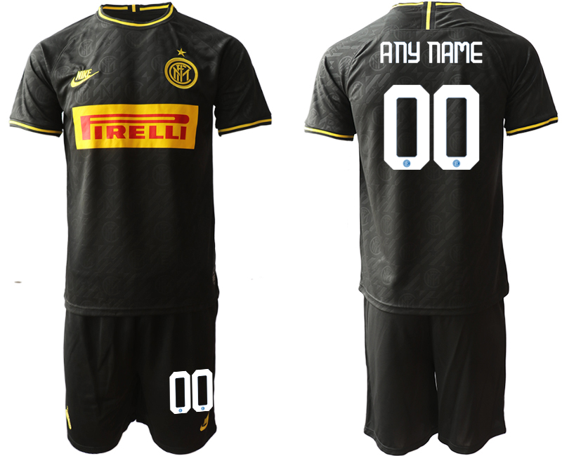 2019-20 Inter Milan Customized Third Away Soccer Jersey