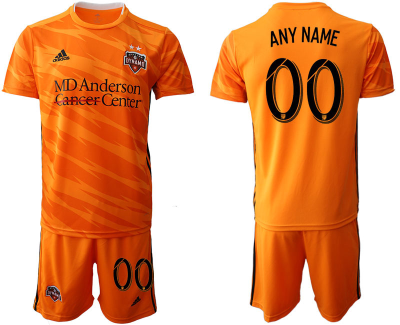 2019-20 Houston Dynamo Customized Home Soccer Jersey