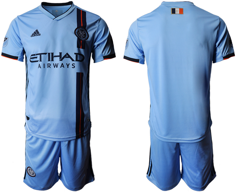 2019-20 New York City FC Home Soccer Jersey