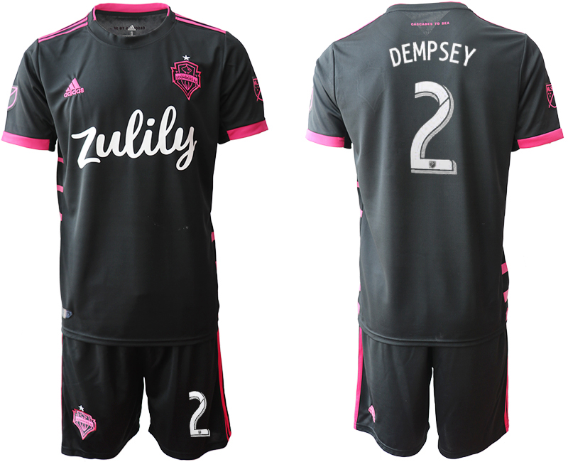 2019-20 Seattle Sounders 2 DEMPSEY Away Soccer Jersey