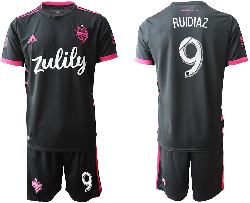 2019-20 Seattle Sounders 9 RUIDIAZ Away Soccer Jersey