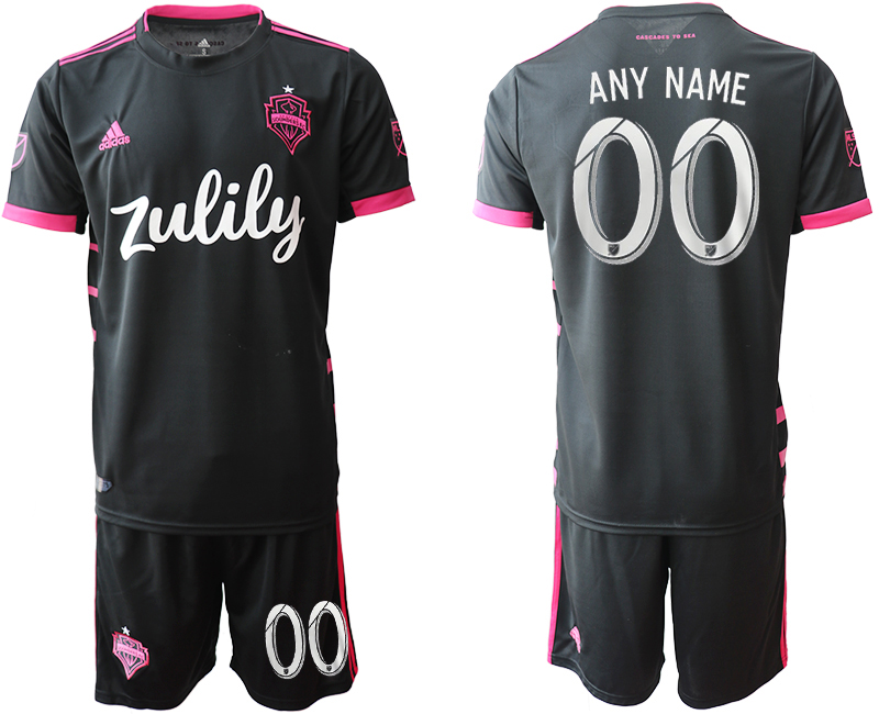 2019-20 Seattle Sounders Customized Away Soccer Jersey