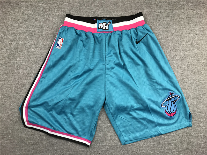 Heat Blue City Edition Nike Swingman Shorts