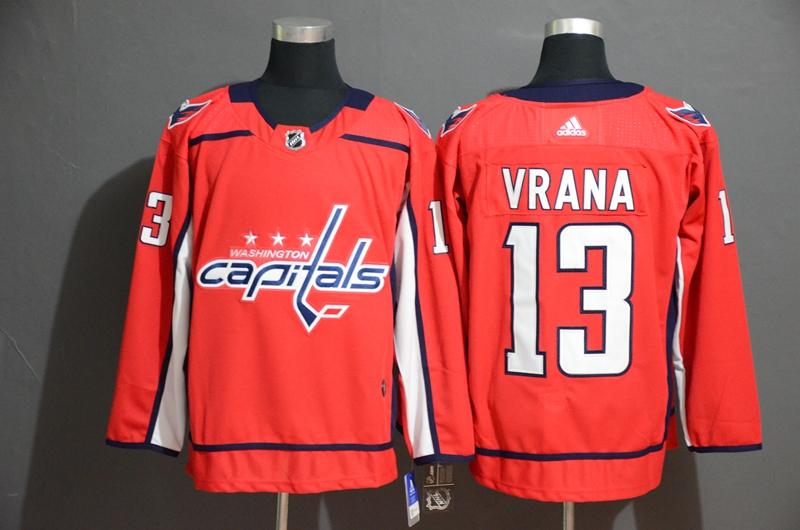 Capitals 13 Jakub Vrana Red Adidas Jersey