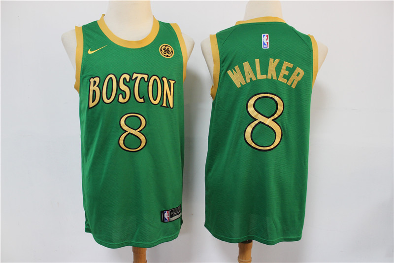 Celtics 8 Kemba Walker Green 2019-20 City Edition Swingman Jersey