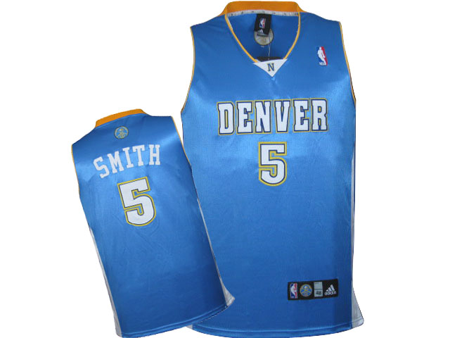 Nuggets 5 Jr. Smith Blue Jersey