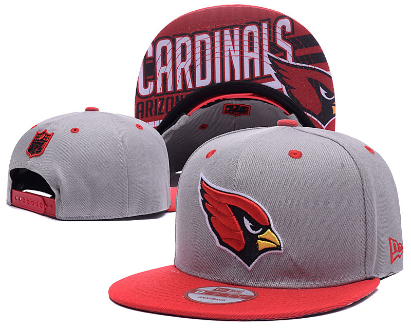 Arizona Cardinals Fresh Logo Gray Adjustable Hat LH