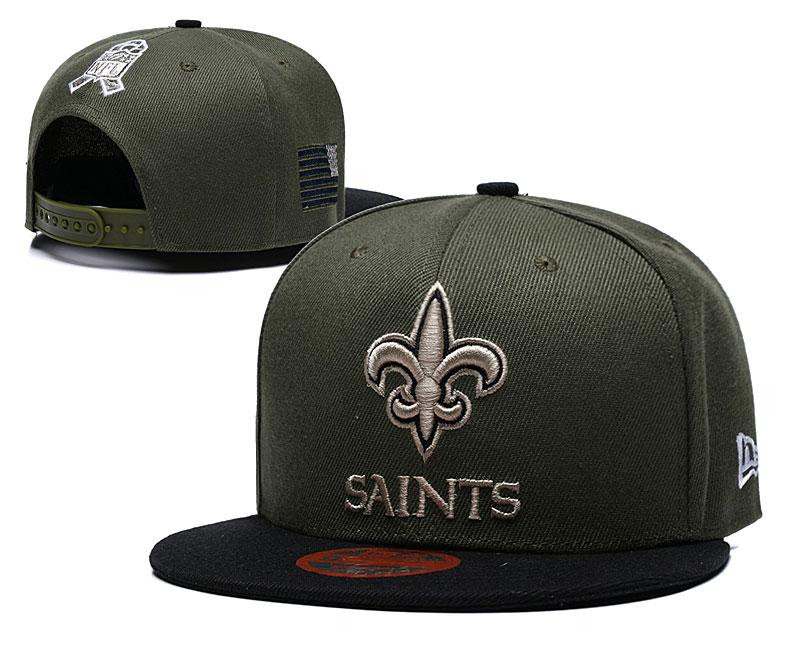 Saints Fresh Logo Camo Adjustable Hat LT