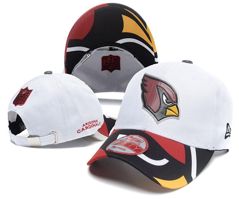 Cardinals Team Logo White Peaked Adjustable Hat SG