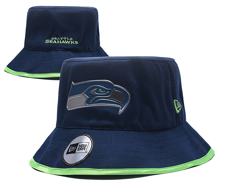 Seahawks Team Navy Wide Brim Hat YD