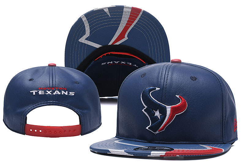 Texans Fresh Logo Navy Adjustable Hat YD