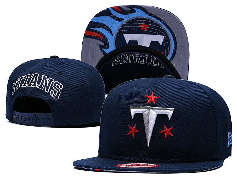Titans Fresh Logo Navy Adjustable Hat GS