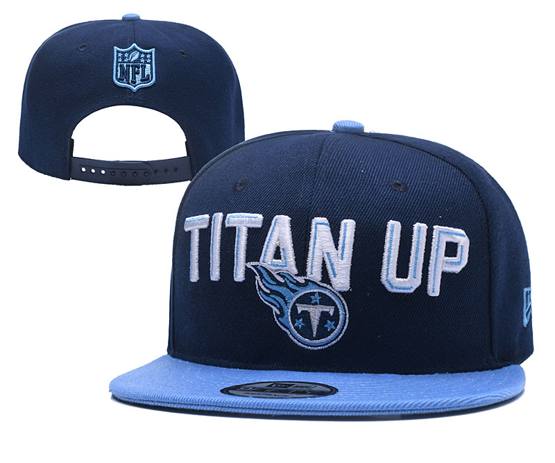 Titans Fresh Logo Navy Adjustable Hat YD