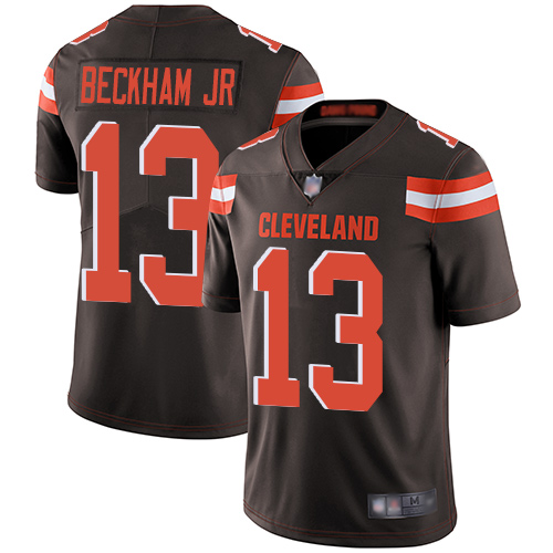 Nike Browns 13 Odell Beckham Jr Brown Youth Vapor Untouchable Limited Jersey