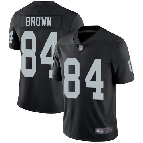 Raiders 84 Antonio Brown Black Youth Vapor Untouchable Limited Jersey