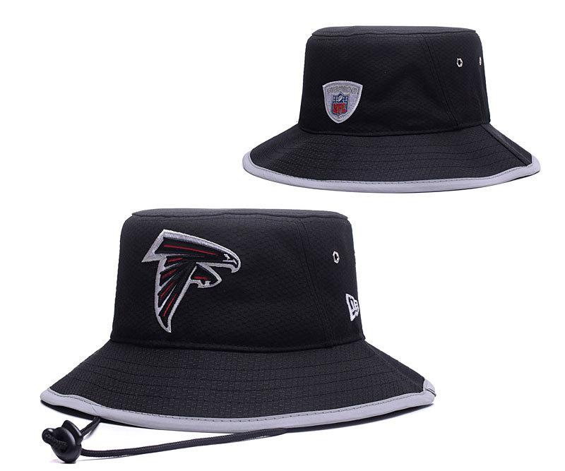 Falcons Fresh Logo Black Wide Brim Hat YD