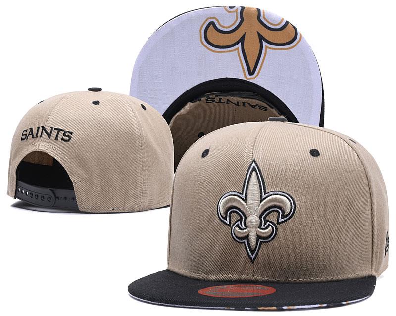 Saints Team Logo Light Color Adjustable Hat LT