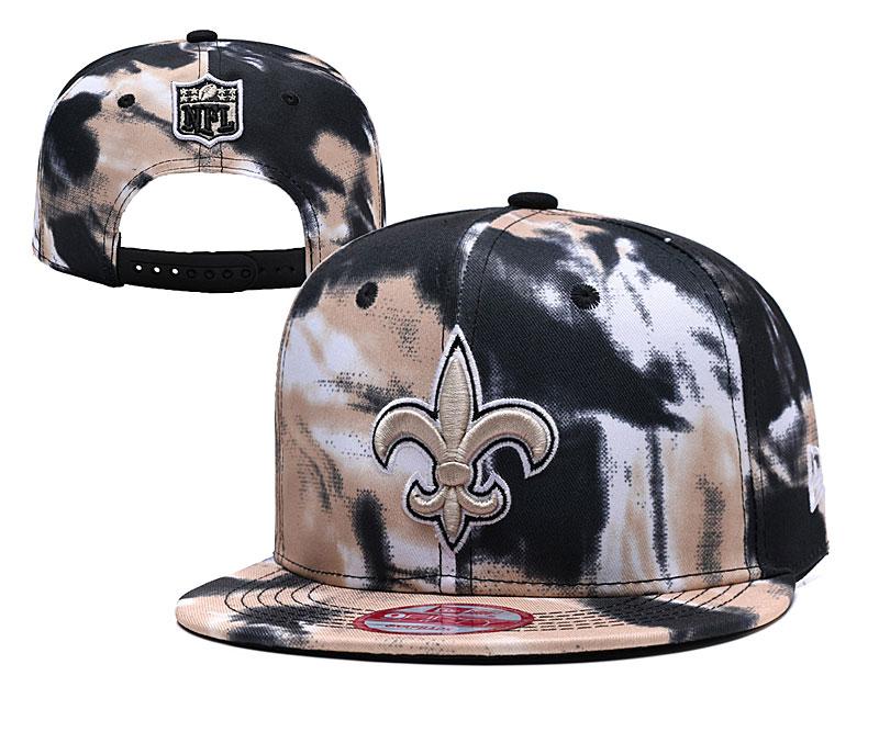 Saints Team Logo Smoke Adjustable Hat YD