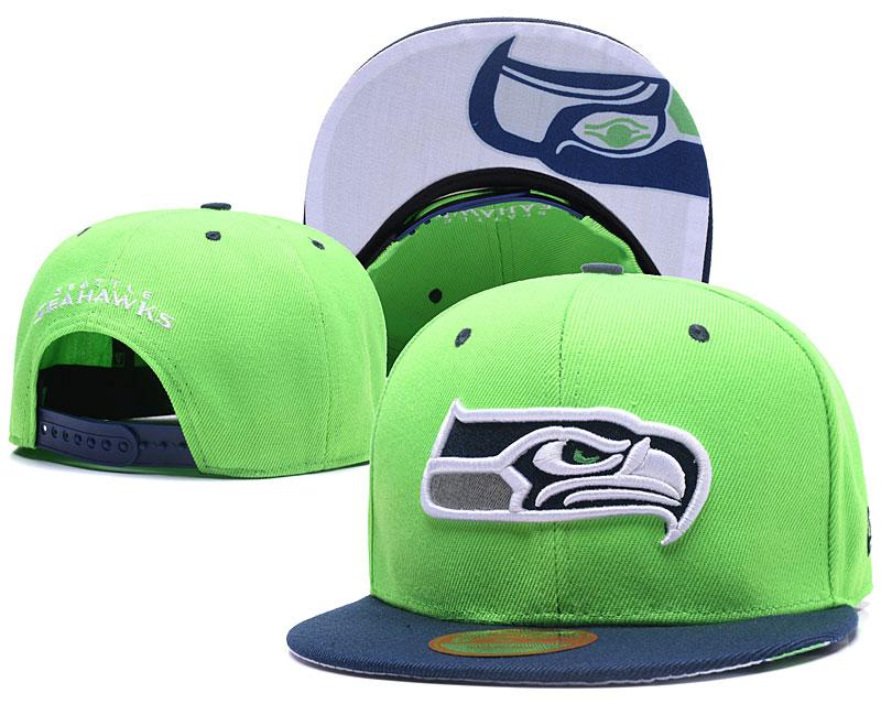 Seahawks Fresh Logo Green Adjustable Hat LT