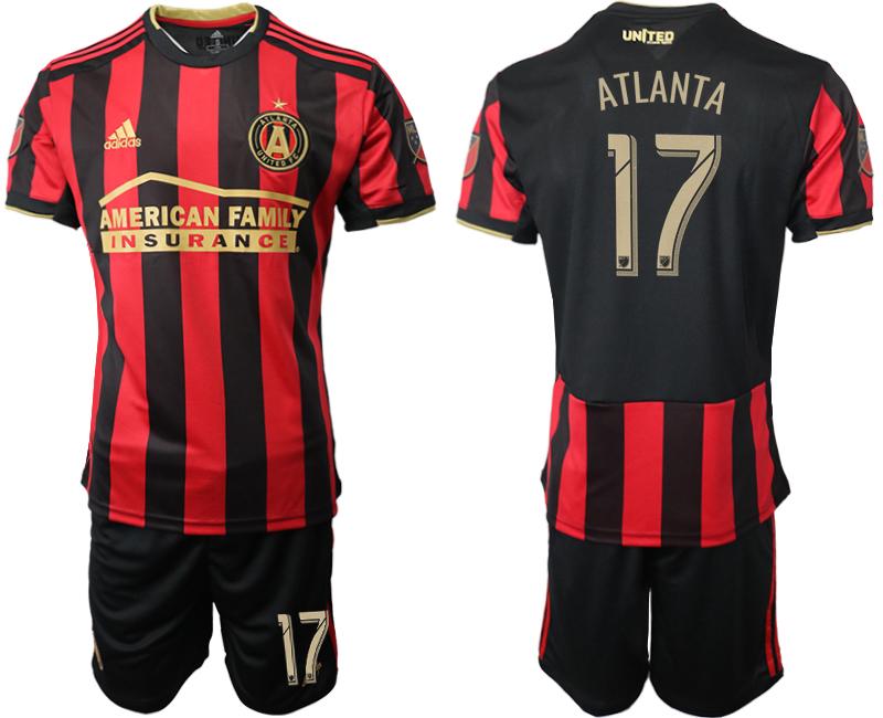 2019-20 Atlanta United FC 17 ATLANTA Home Soccer Jersey