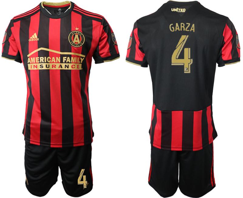 2019-20 Atlanta United FC 4 GARZA Home Soccer Jersey