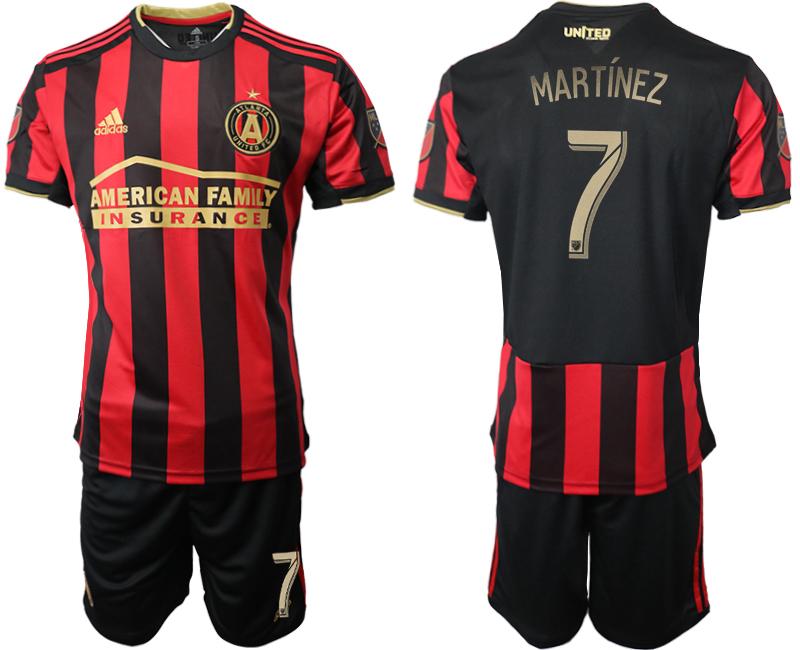 2019-20 Atlanta United FC 7 MARTINEZ Home Soccer Jersey