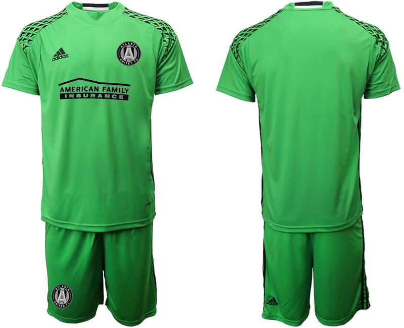 2019-20 Atlanta United FC Apple Green Goalkeeper Soccer Jersey