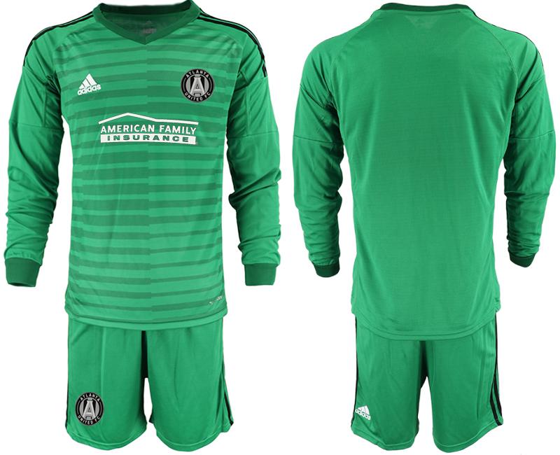 2019-20 Atlanta United FC Green Long Sleeve Goalkeeper Soccer Jersey