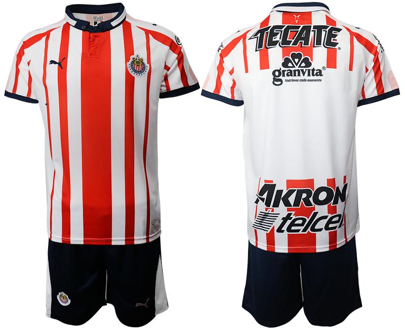 2019-20 Guadalajara Home Soccer Jersey