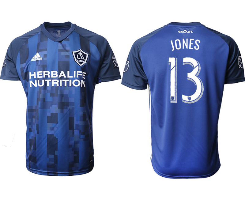 2019-20 Los Angeles Galaxy 13 JONES Away Thailand Soccer Jersey