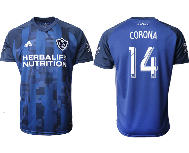 2019-20 Los Angeles Galaxy 14 CORONA Away Thailand Soccer Jersey