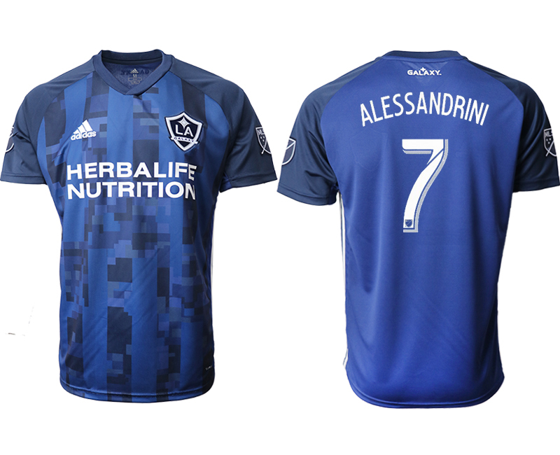 2019-20 Los Angeles Galaxy 7 ALESSANDRINI Away Thailand Soccer Jersey