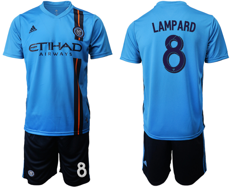 2019-20 New York City FC 8 LAMPARD Home Soccer Jersey