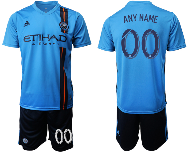 2019-20 New York City FC Customized Home Soccer Jersey