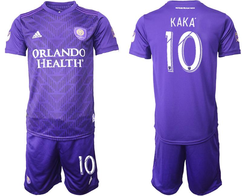 2019-20 Orlando City 10 KAKA Home Soccer Jersey
