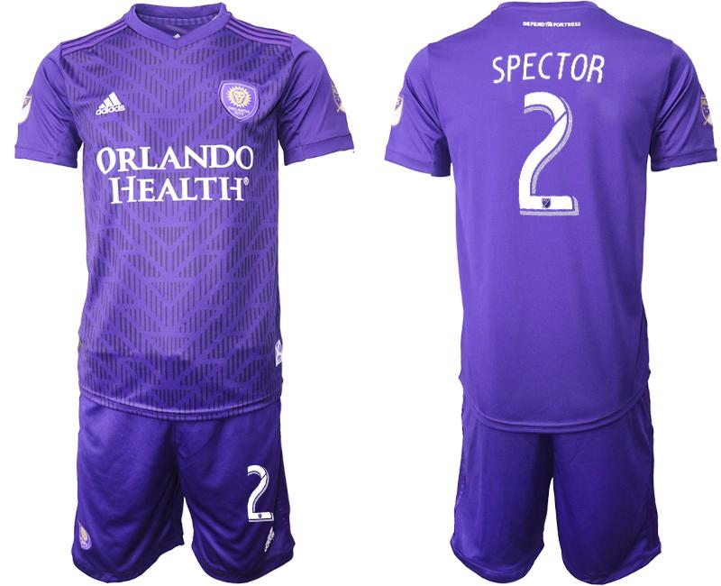 2019-20 Orlando City 2 SPECTOR Home Soccer Jersey