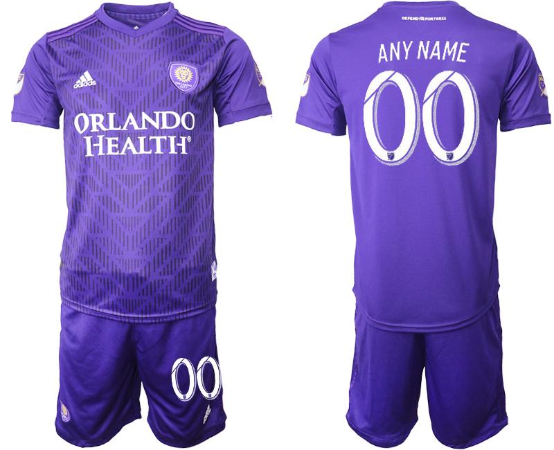 2019-20 Orlando City Customized Home Soccer Jersey
