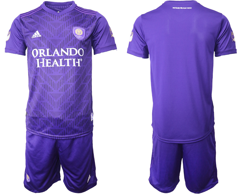 2019-20 Orlando City Home Soccer Jersey