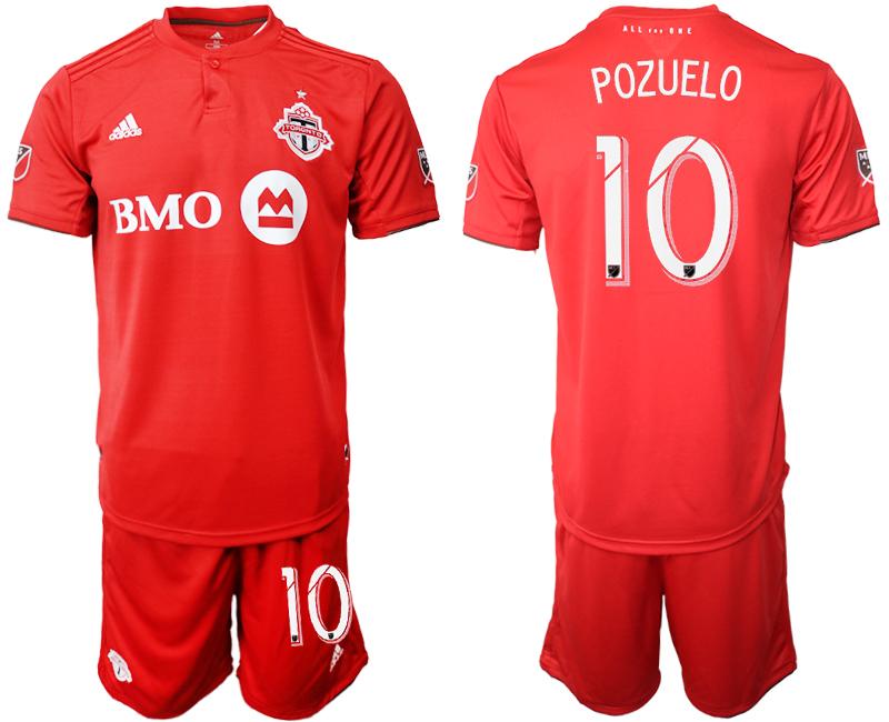 2019-20 Toronto FC 10 POZUELO Home Soccer Jersey