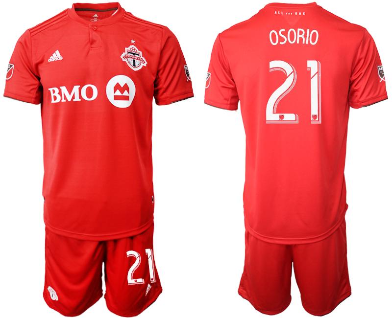 2019-20 Toronto FC 21 OSORIO Home Soccer Jersey