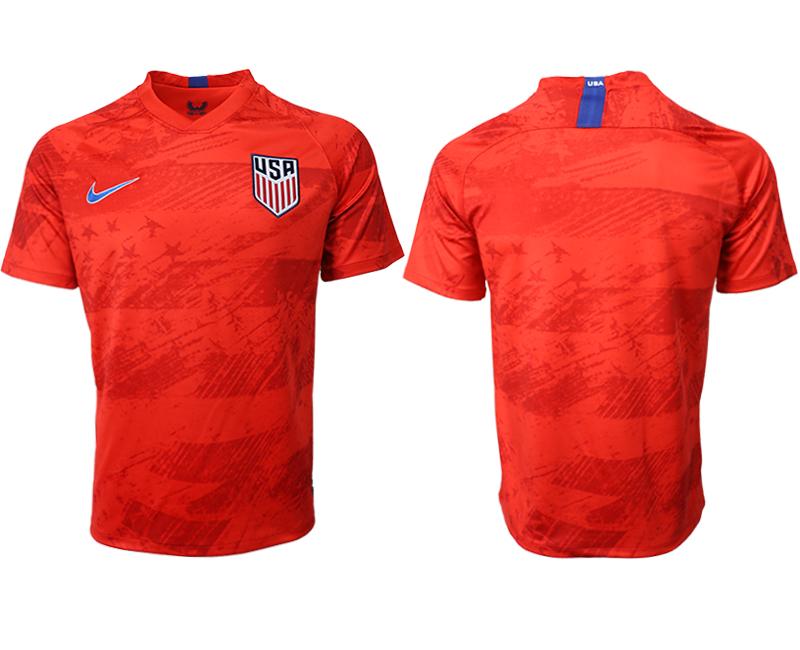 2019-20 USA Away Thailand Soccer Jersey
