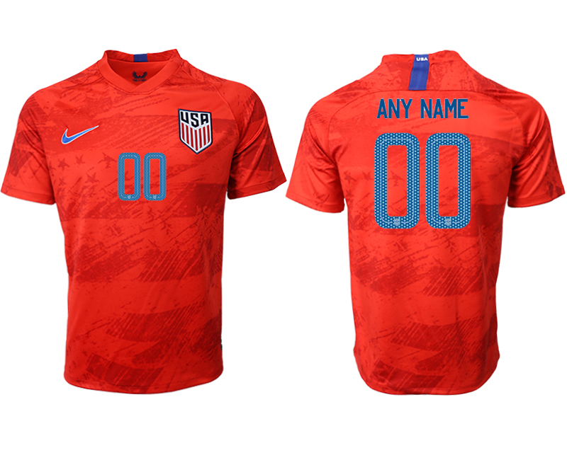 2019-20 USA Customized Away Thailand Soccer Jersey