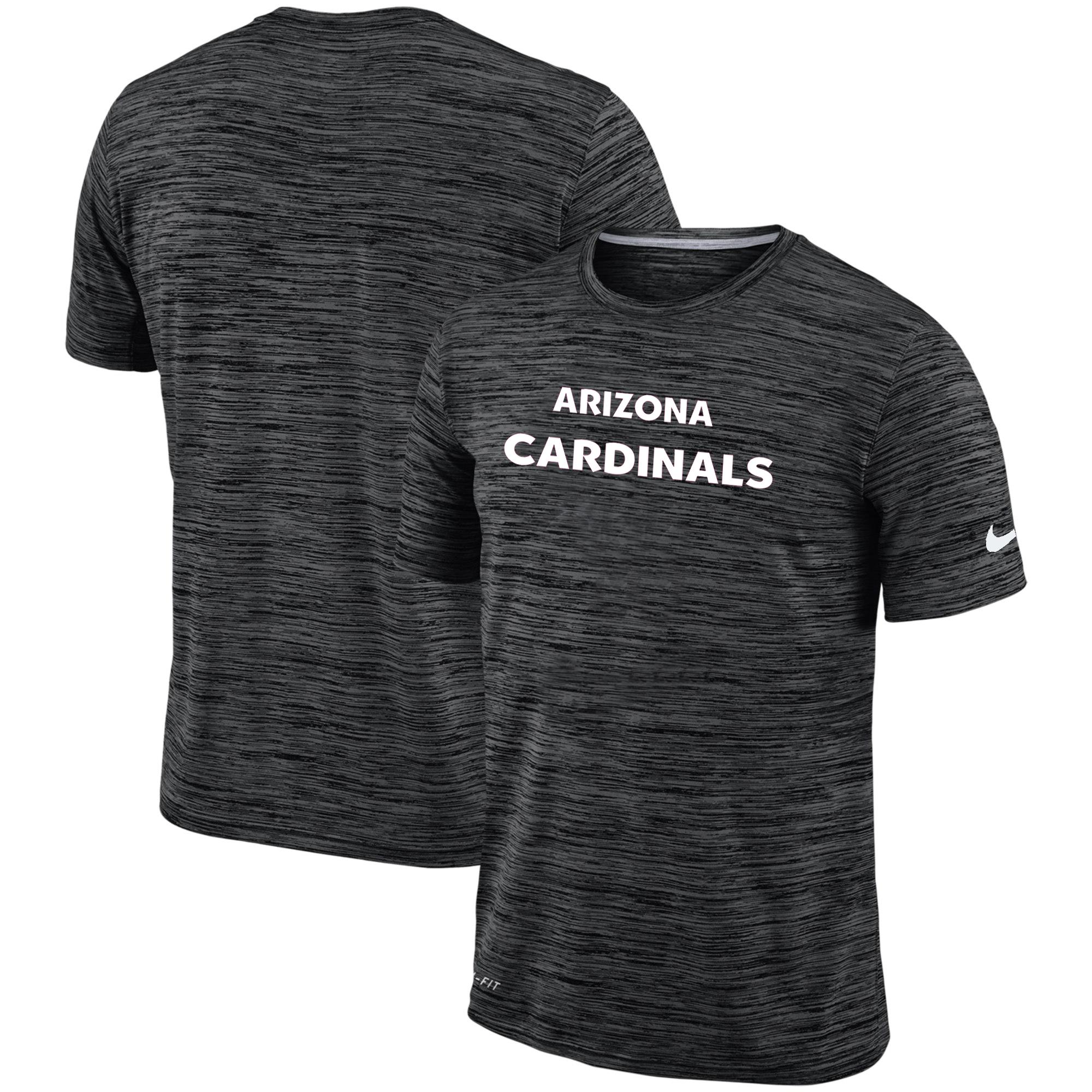 Men's Arizona Cardinals Nike Black Velocity Performance T-Shirt