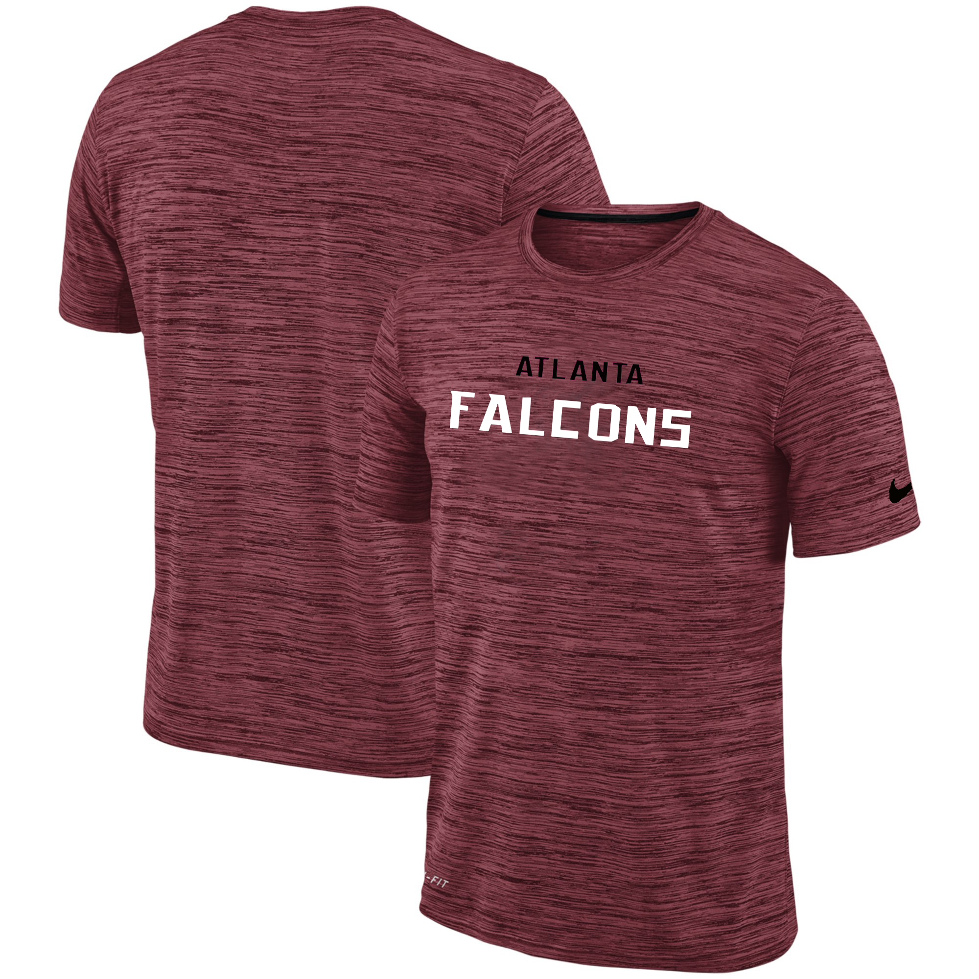 Nike Atlanta Falcons Red Velocity Performance T-Shirt