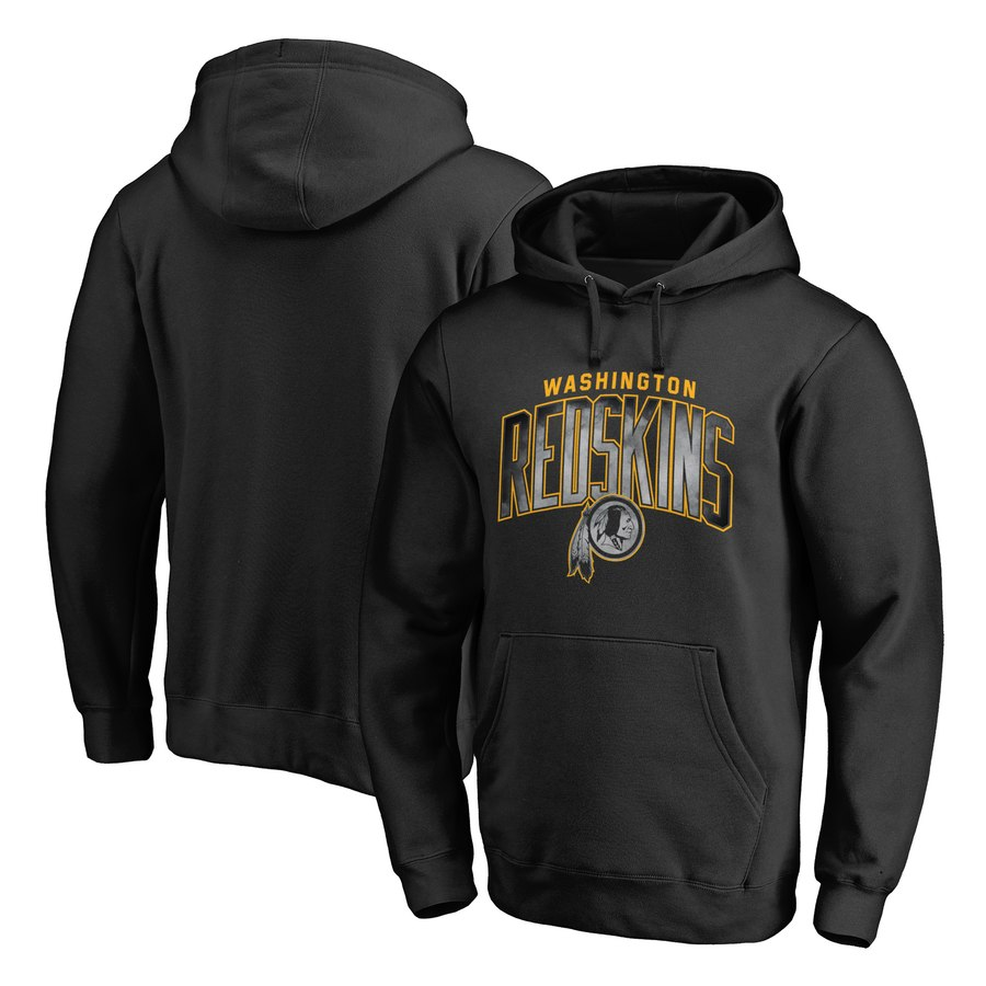 Washington Redskins NFL Pro Line by Fanatics Branded Arch Smoke Pullover Hoodie Black