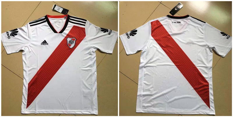 2019-20 River Plate Home Thailand Soccer Jersey