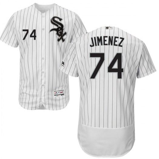 White Sox 74 Eloy Jimenez White Flexbase Jersey