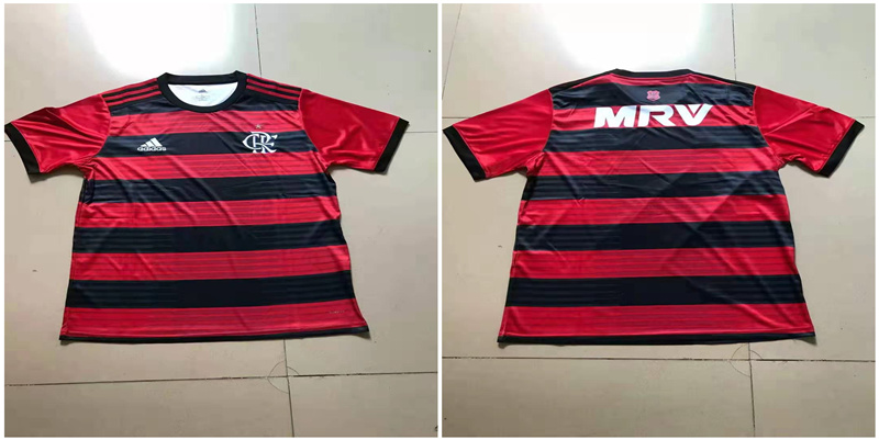 2019-20 Flamengo Home Thailand Soccer Jersey